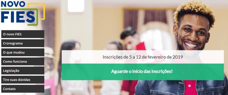 Inscrições FIES 2022